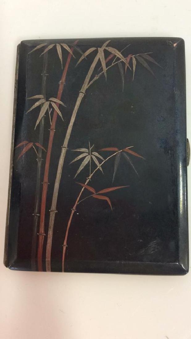 Vintage Japanese Signed Cigarette Box