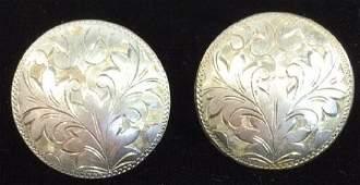 Sterling Silver Clip Earrings Jewelry