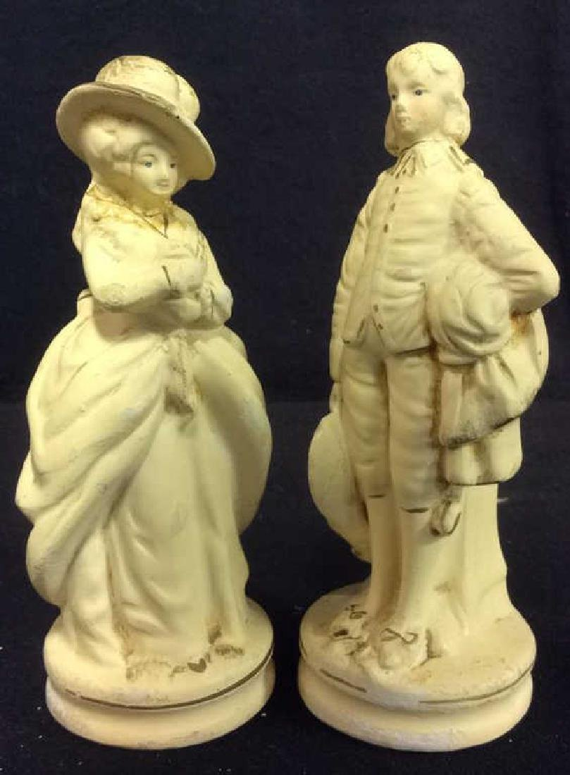 Vintage Male & Female Figures Statuettes