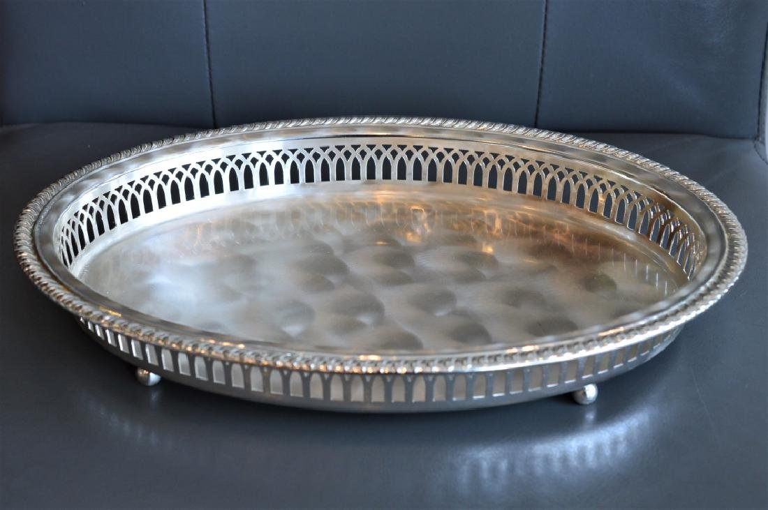 Electroplated Brass Dresser Tray Made in Germany
