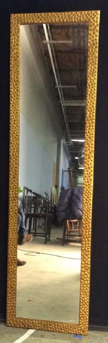 CASCO BAY Gold Toned Frame Mirror
