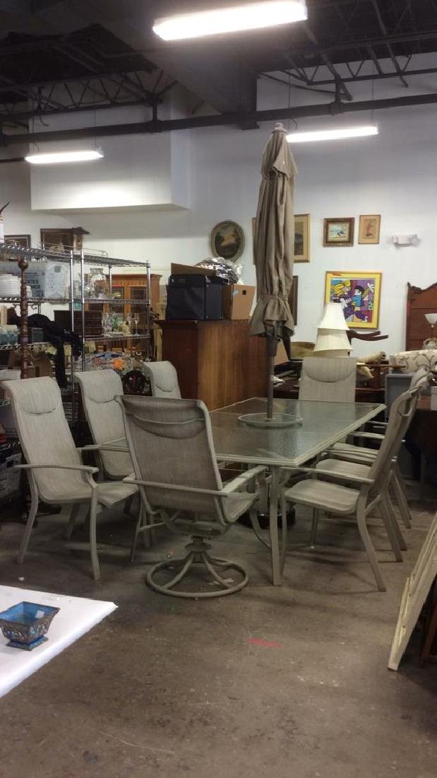 Lot 10 Outdoor Furniture Patio Set Fortunoffs