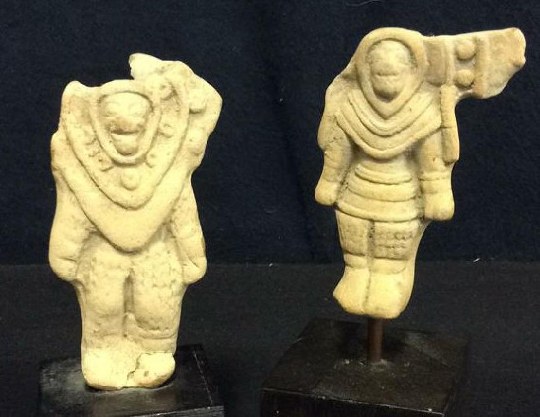 Lot 2 Stone Carving Figural Pre-Columbian Style