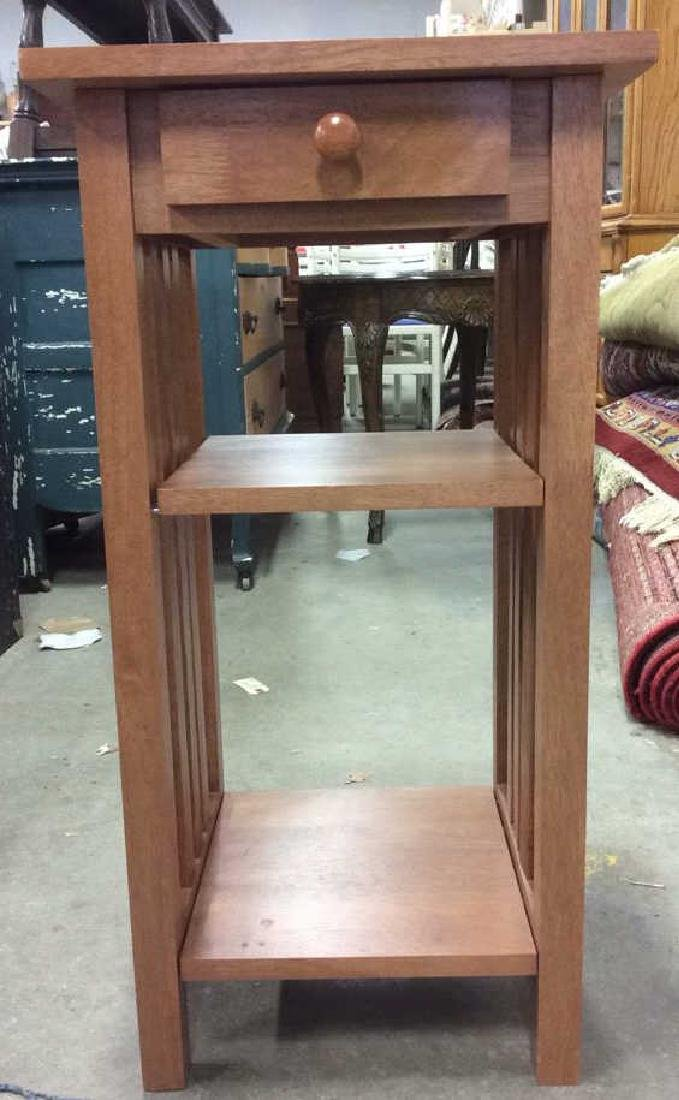 2 Tier Wooden Side Table Night Table