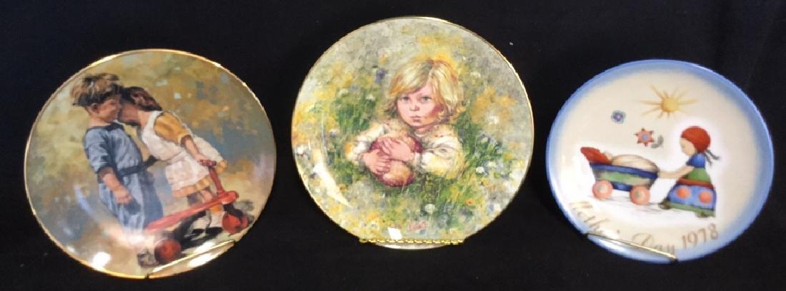 Lot 3 Ceramic Bone China Collector's Plates