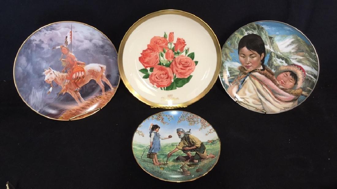 Lot 4 Porcelain Bone China Collectors Plates