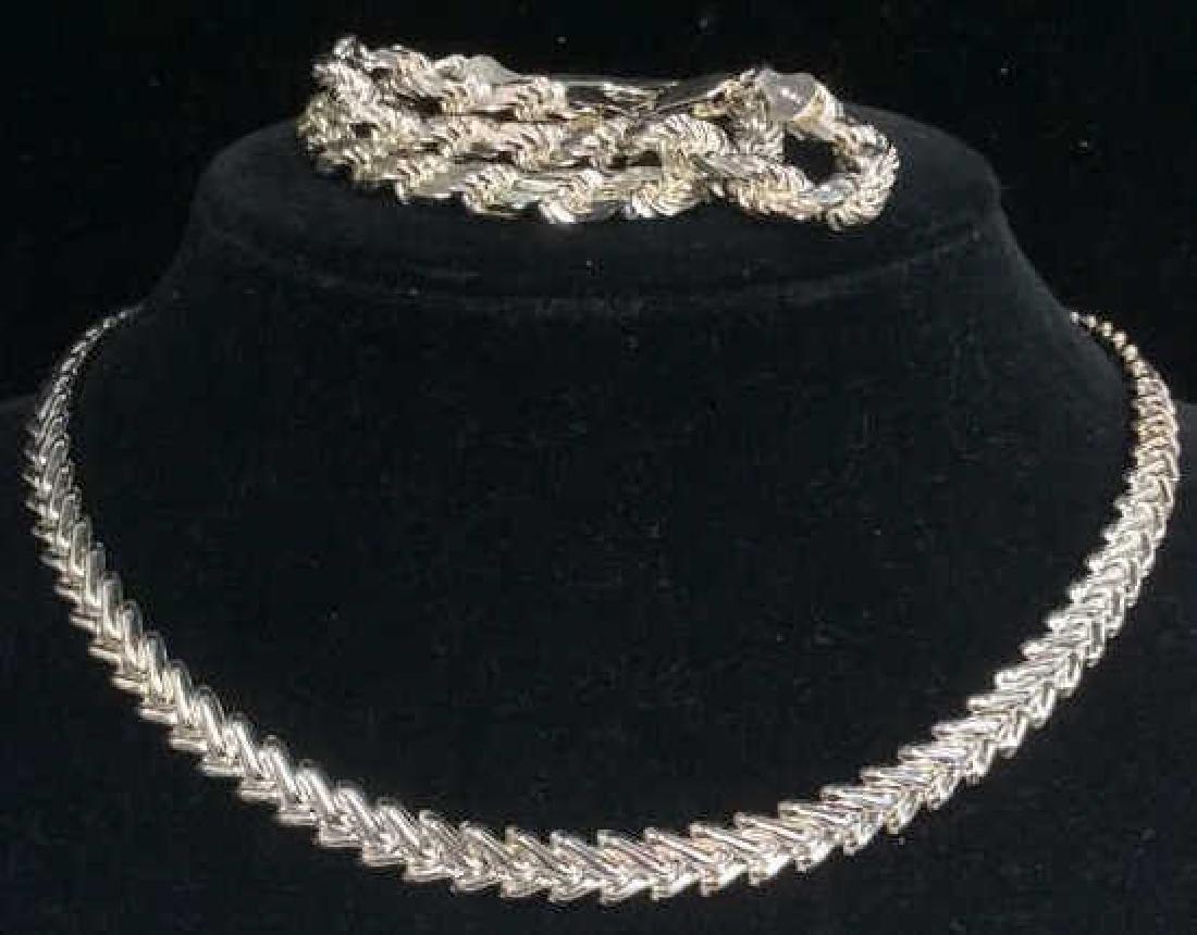 Lot 3 MILOR Sterling Silver Jewelry