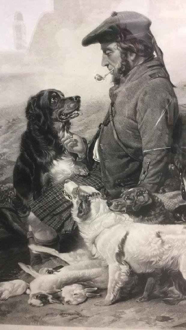 The Scotch Gamekeeper Framed Print By R. Ansdell