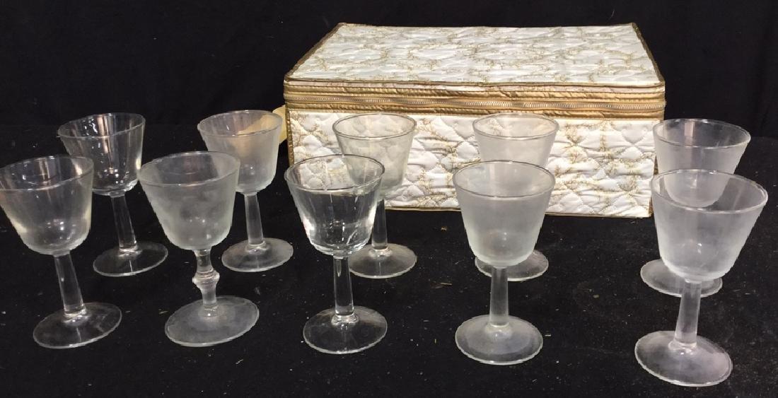 Group Lot Of Wine Glasses, Stemware