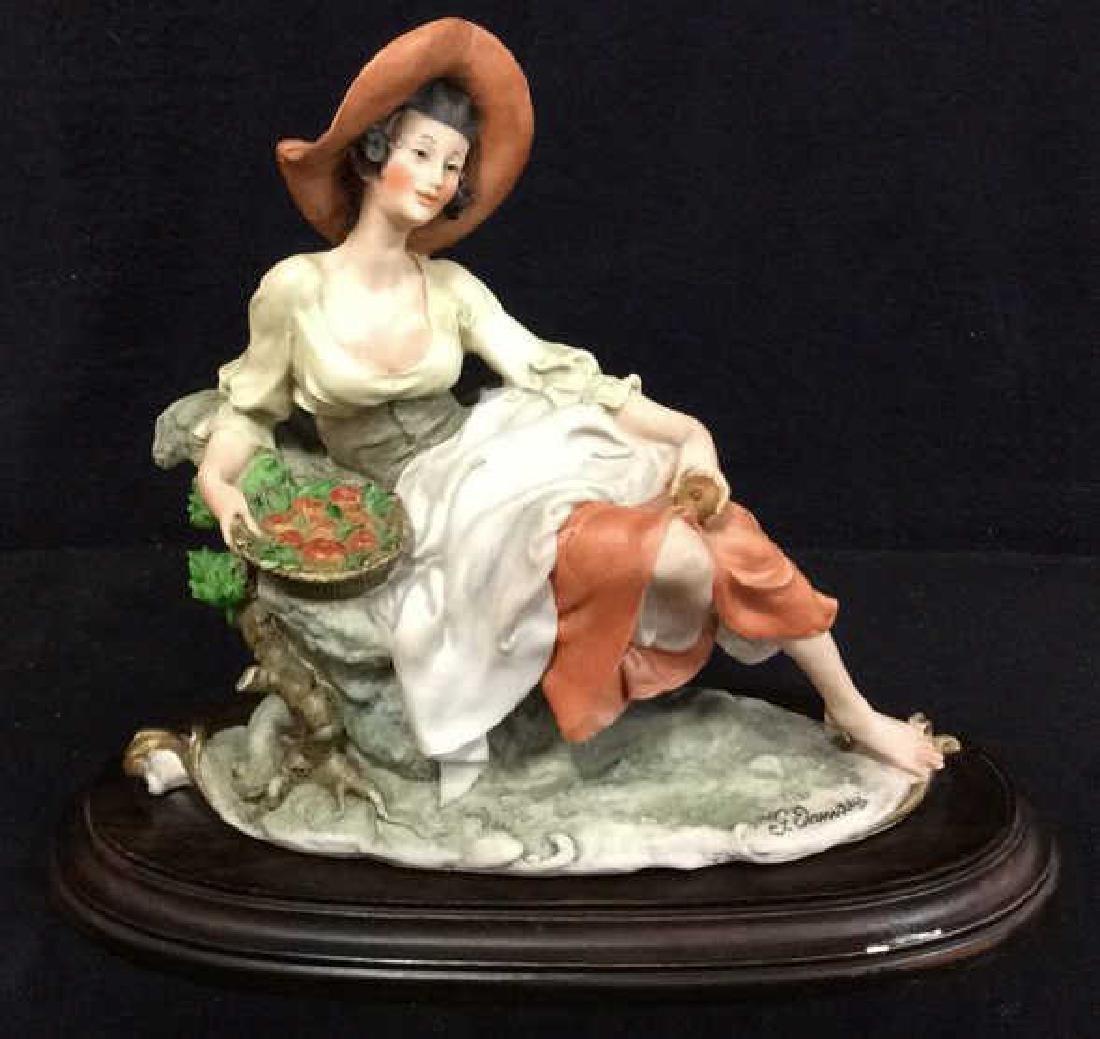 G. ARMANI Italian Porcelain Statuette Female