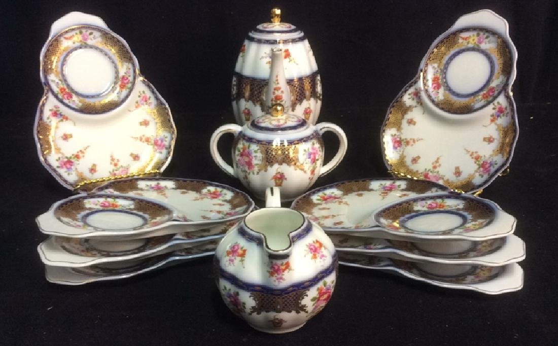Vintage Lot 11 Biscuit & Tea China Set