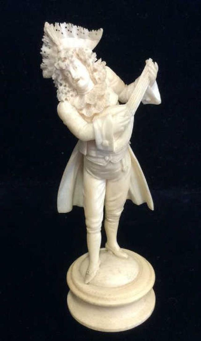 Carved Bone Music Performers Figurine
