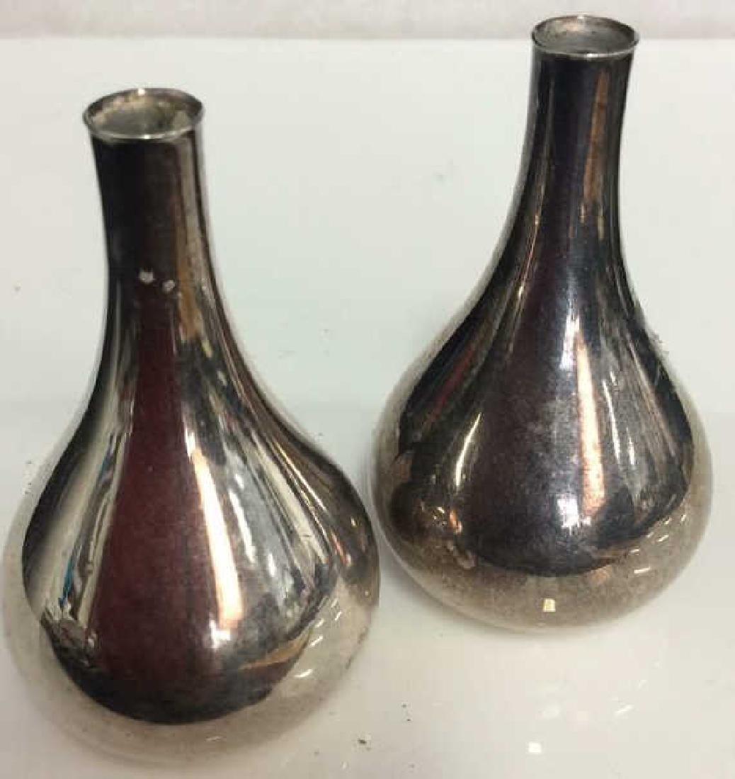 Pair Vintage  DANSK Onion Candleholders