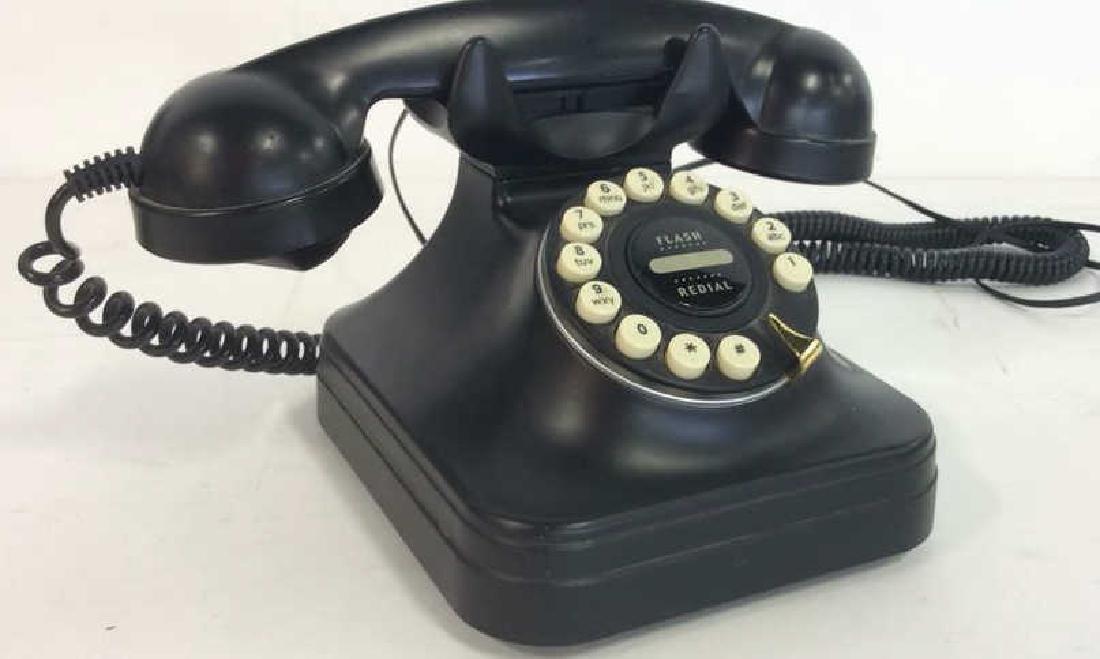 Replica Black Vintage Rotary Phone