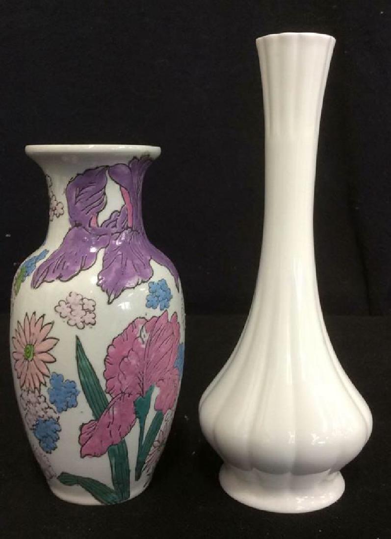 Lot 2 Assorted Vintage Vases Marked