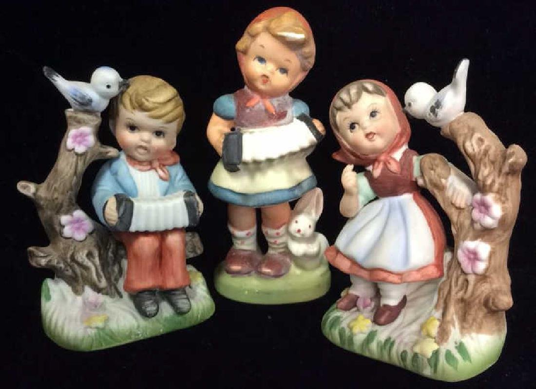 Lot 3 Hummel Children Statuettes