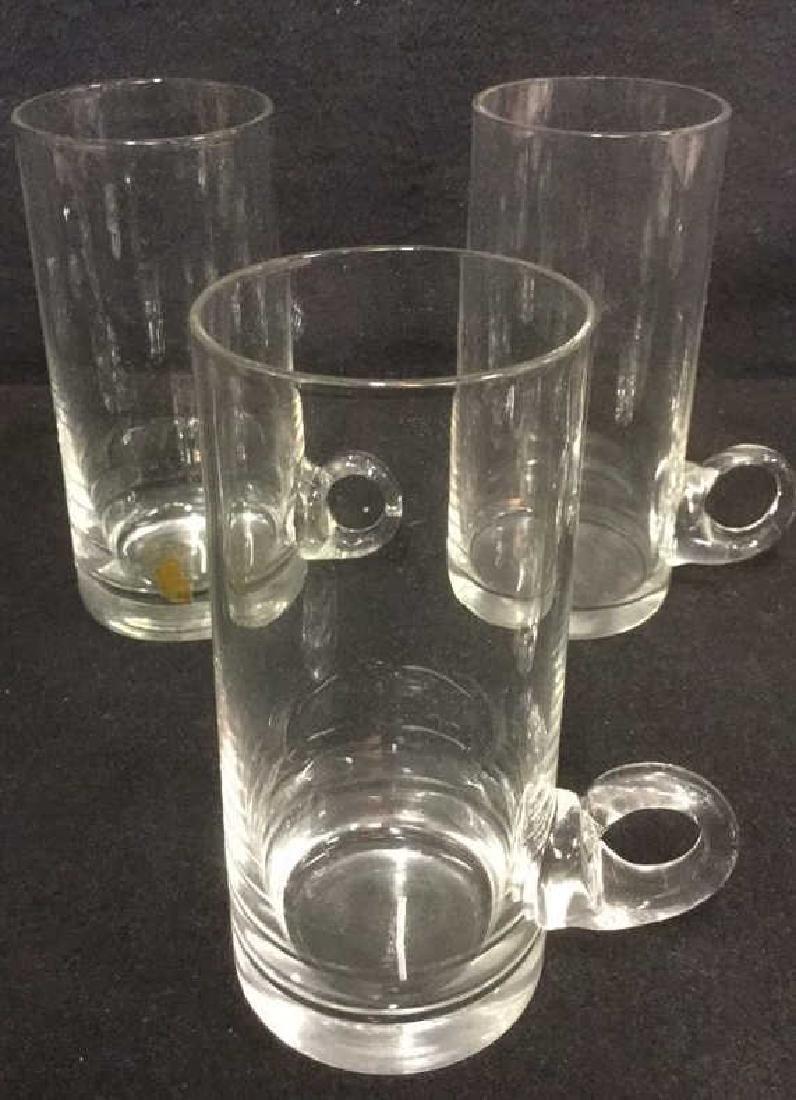 Lot 4 Crystal/Glass Barware Tumblers