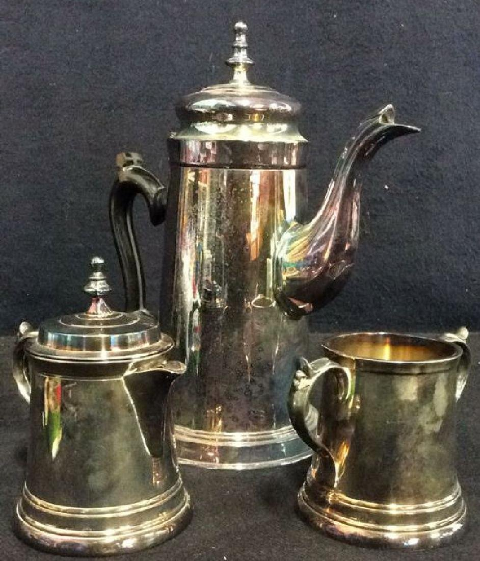 Lot 3 EALES 1779 Coffee Pot & More Service