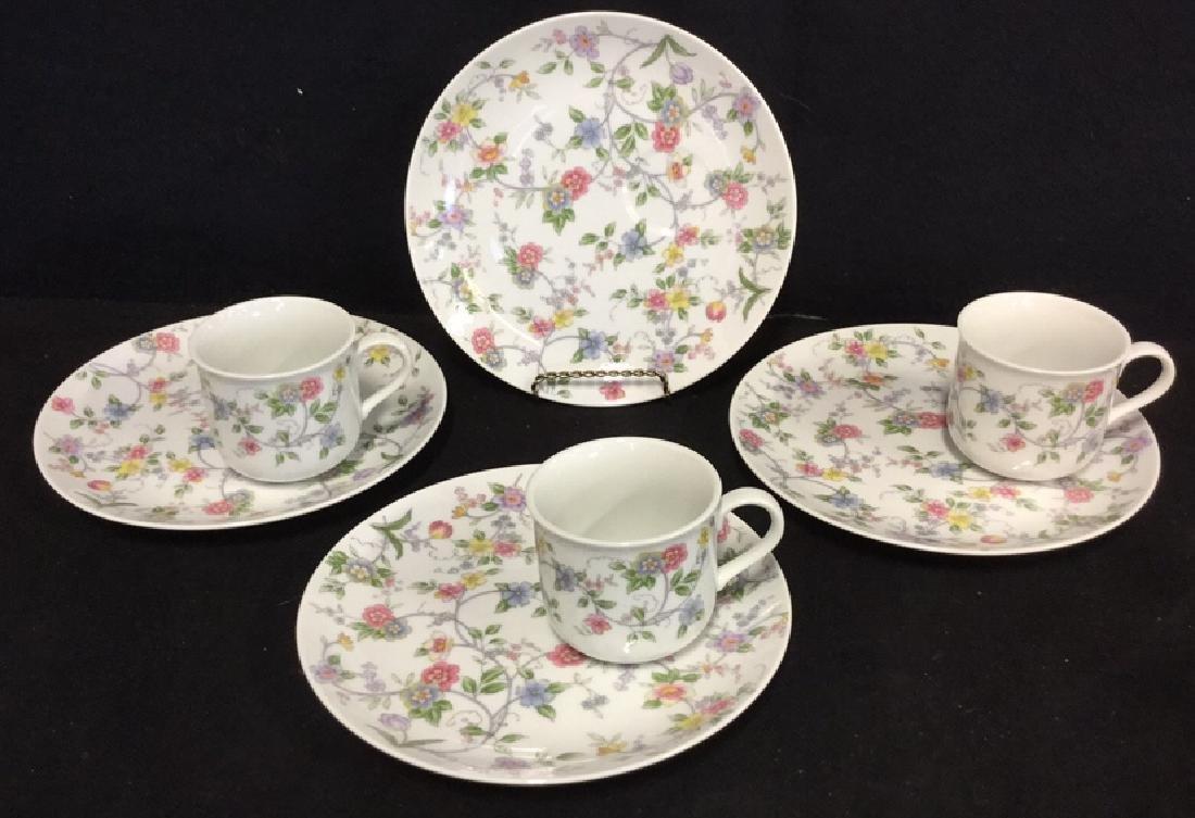 Lot 7 Corona By Andrea Sadek Tea Cups & Plates