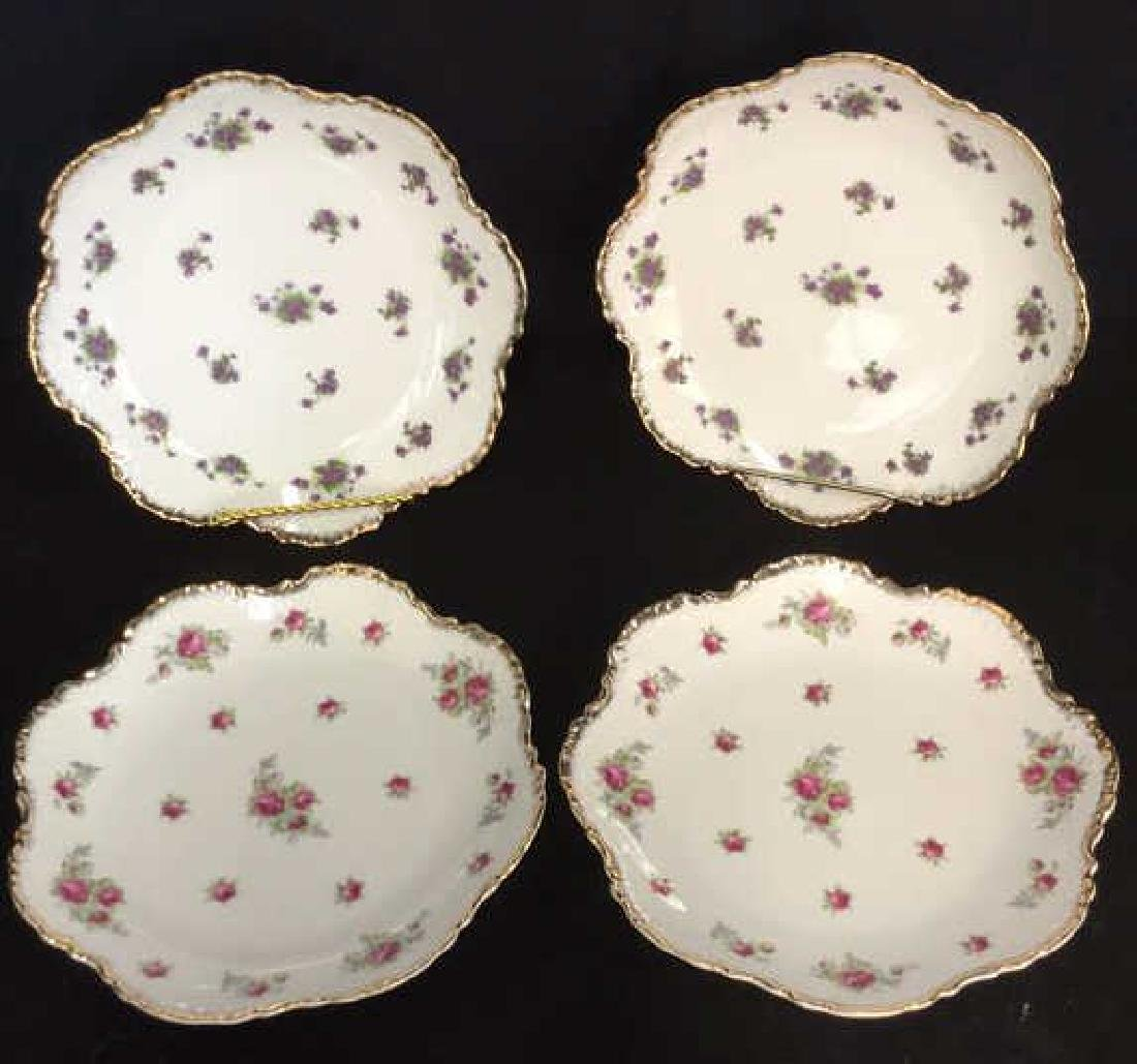 Lot 4 Lefton China Hand Painted Plates