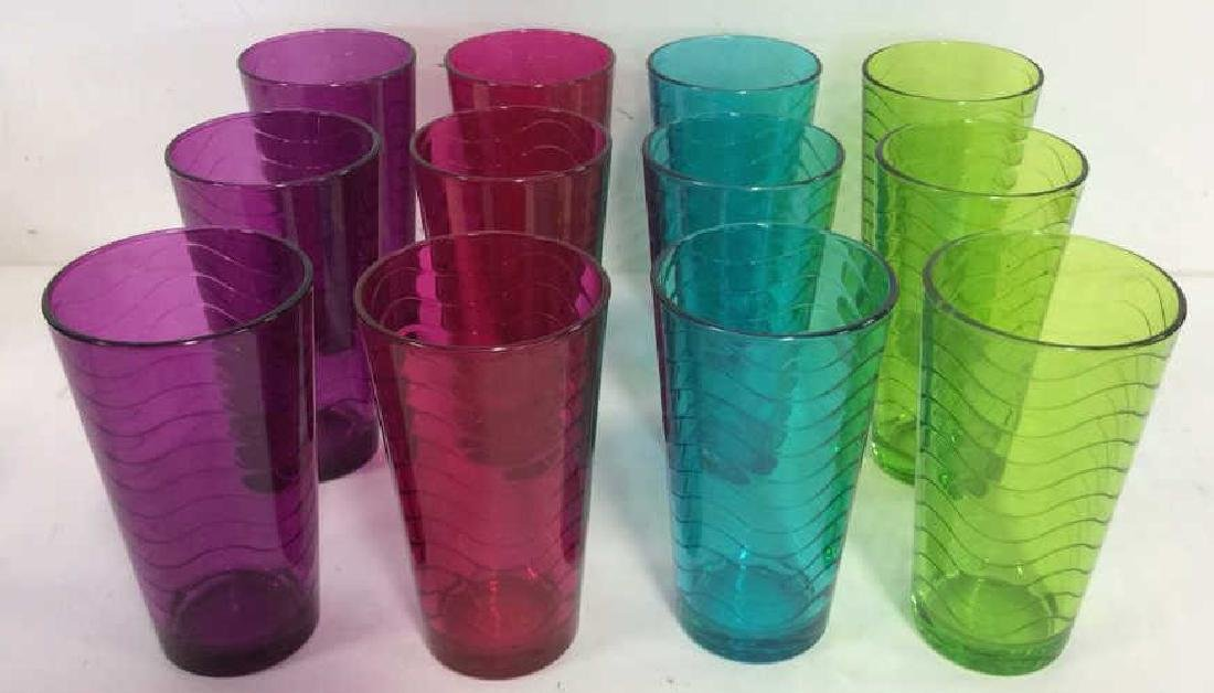 Set 10HOME ESSENTIALS Drinking Glasses