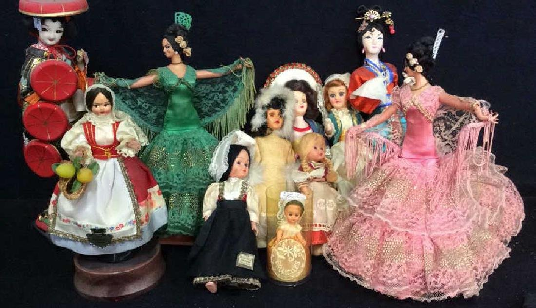 Vintage Doll Collection Around the Globe