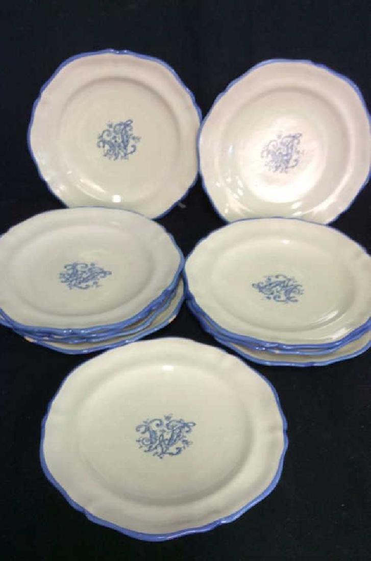 Set 10 Italian Pottery plates