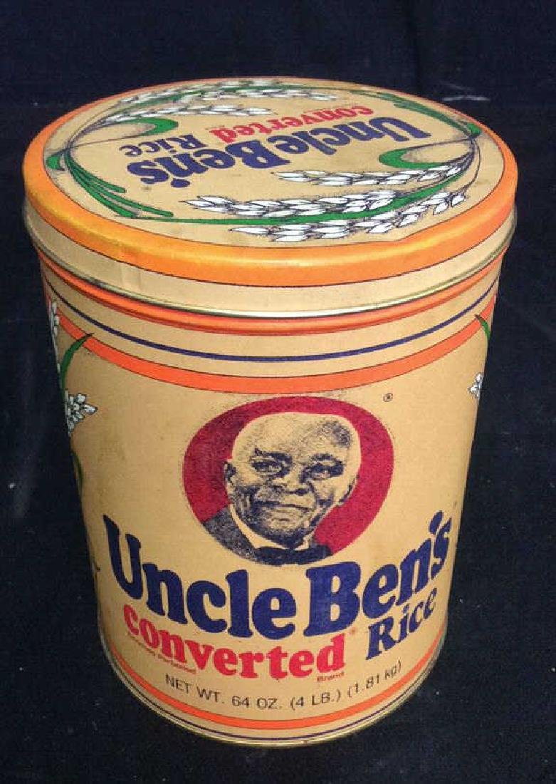 Collectible Uncle Bens Rice Cannister