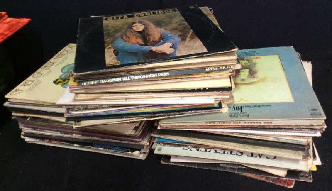 Group Lot of Vintage Vinyl Record Albums