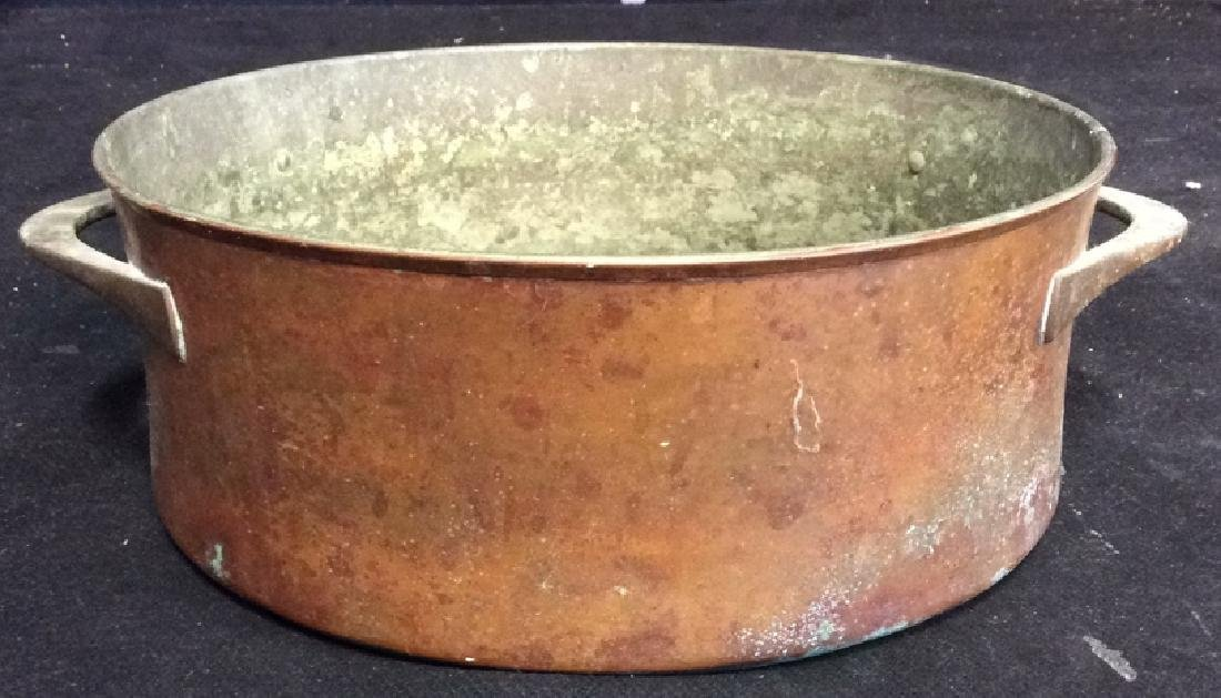 Antique Hand Crafted Copper Pot