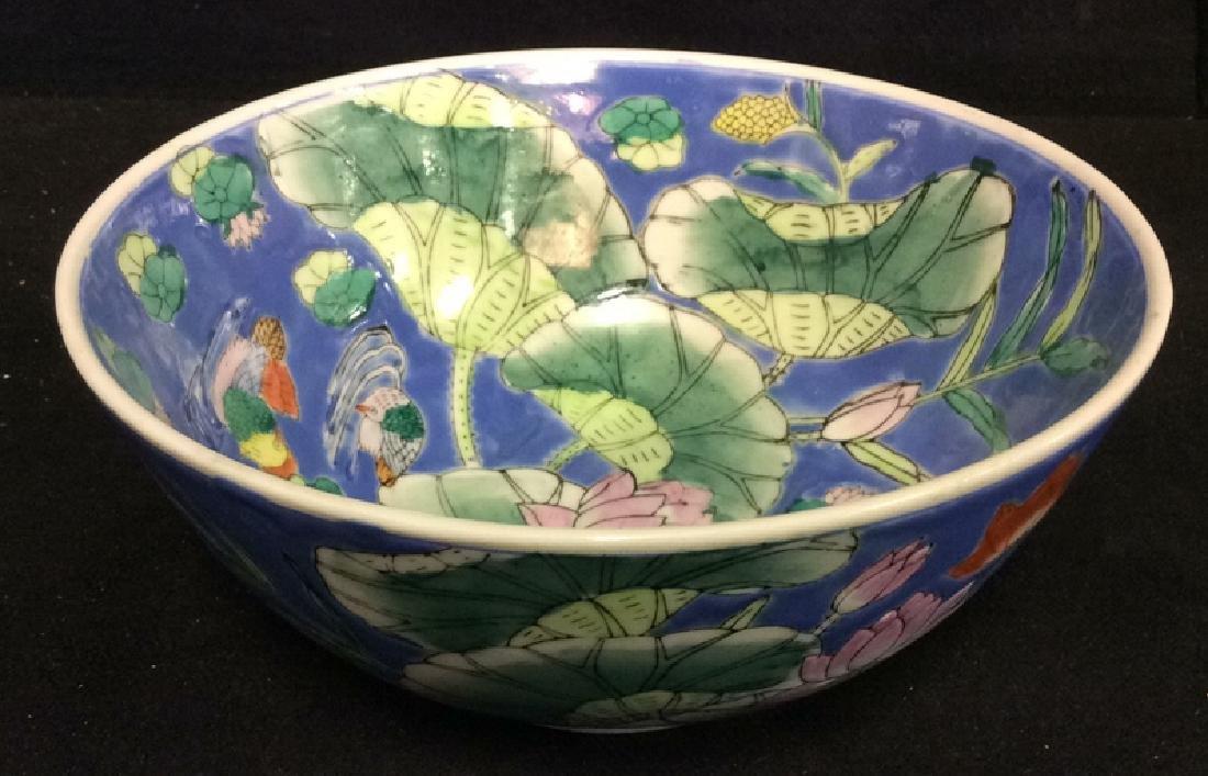 Enameled Ceramic Porcelain Chinese Bowl