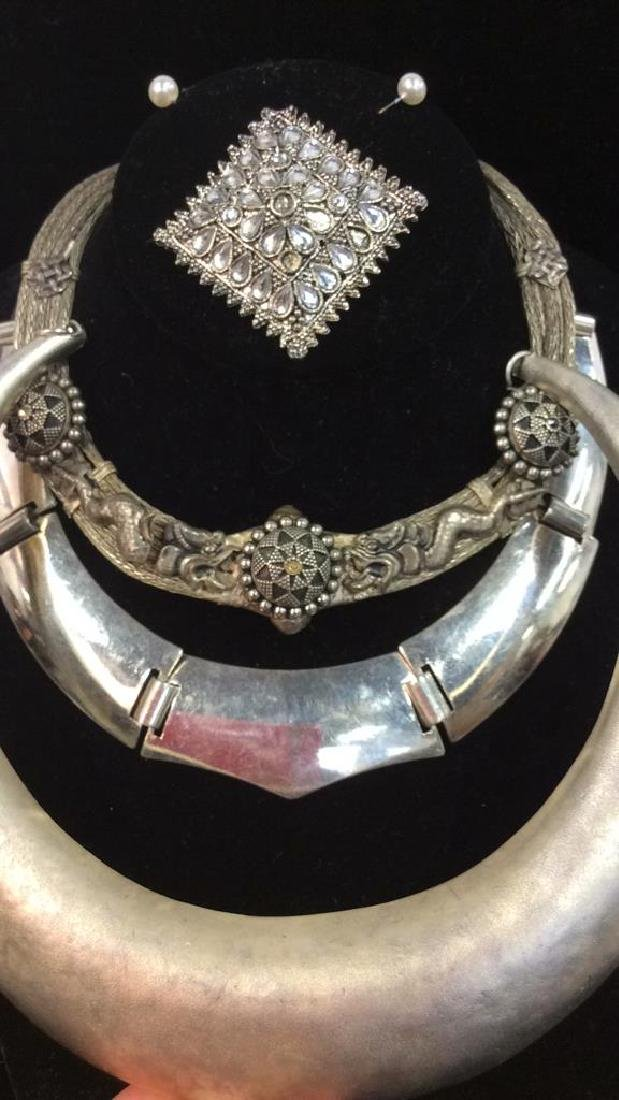 Lot 4 Assorted Women's Estate Costume Jewelry