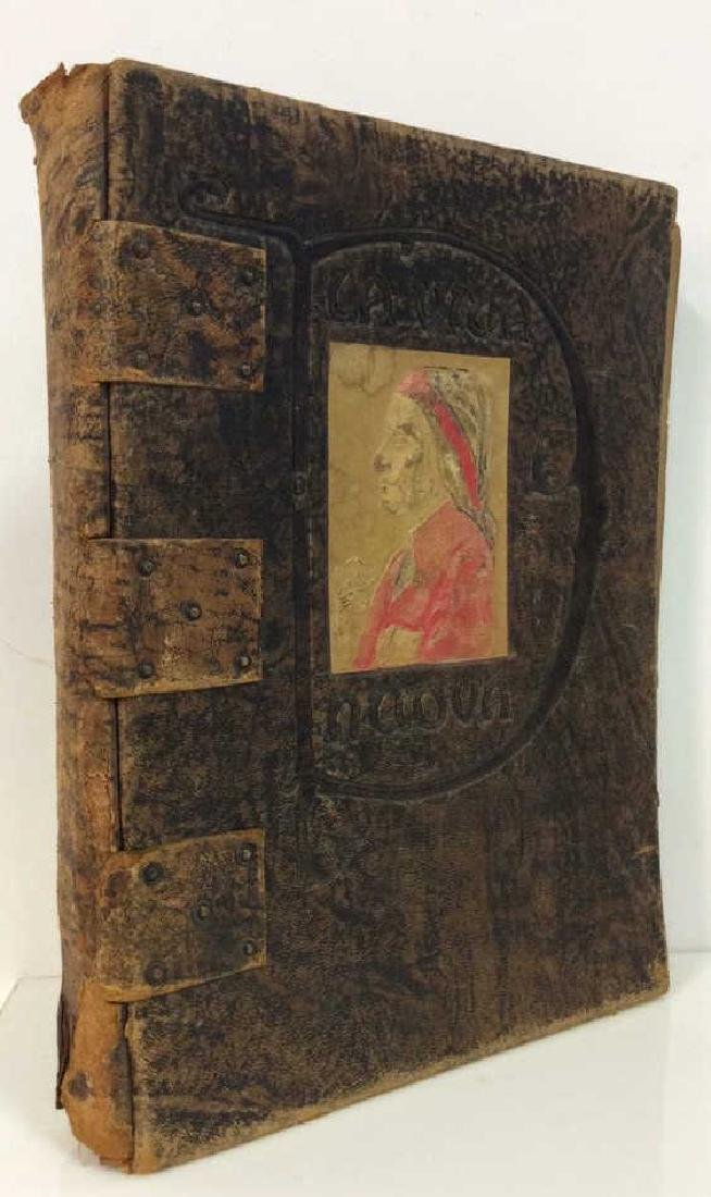 Antique Book The New Life by Dante Alighieri