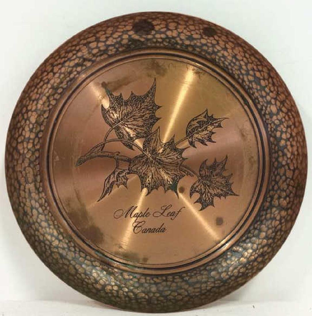 FANTASY Copperware Solid Copper Decorative Plate