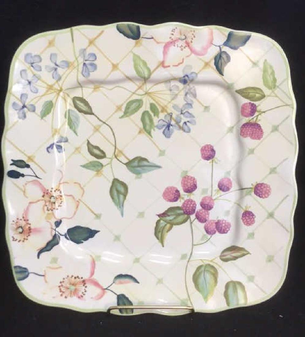 Hand Painted Porcelain Ceramic Tracy Porter Plate