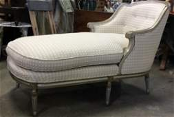 Country French Chaise Lounge Chair