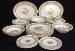 Vintage Johnson Brothers Porcelain Dinner Service