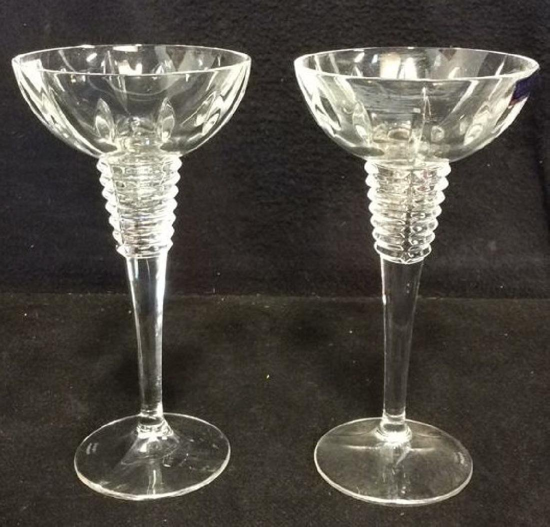 Pair MARQUIS BY WATERFORD GEMINI Candle Holders