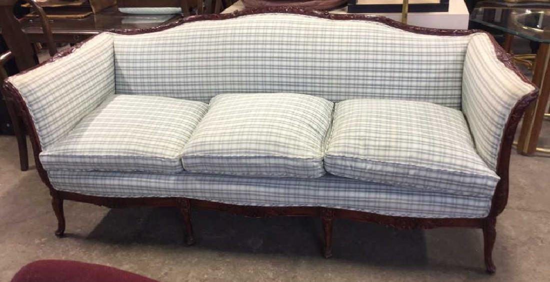 French Style Carved Framed Sofa Setee
