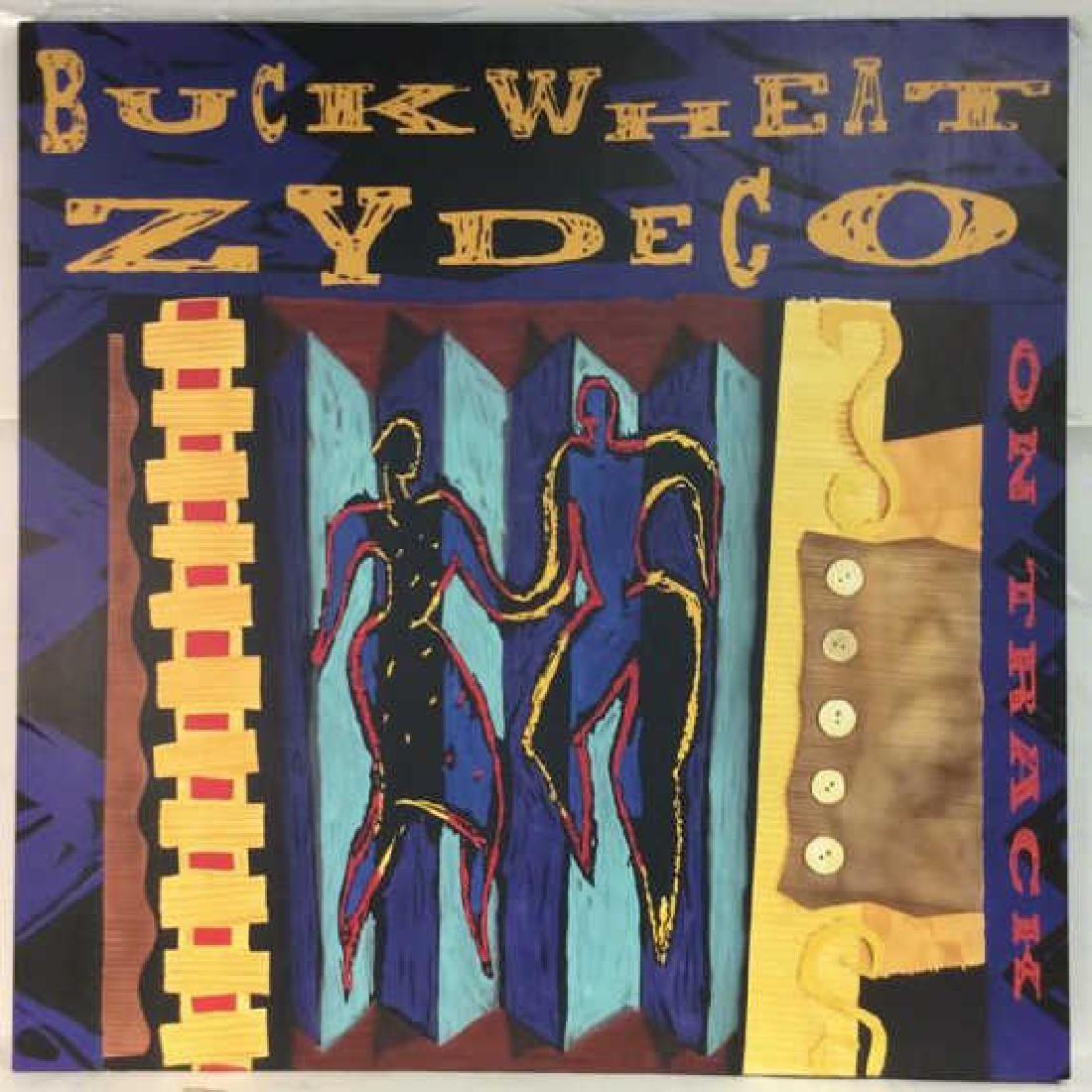 JOE TAYLOR, Buckwheat Zydeco, Hey Joe, Canvas