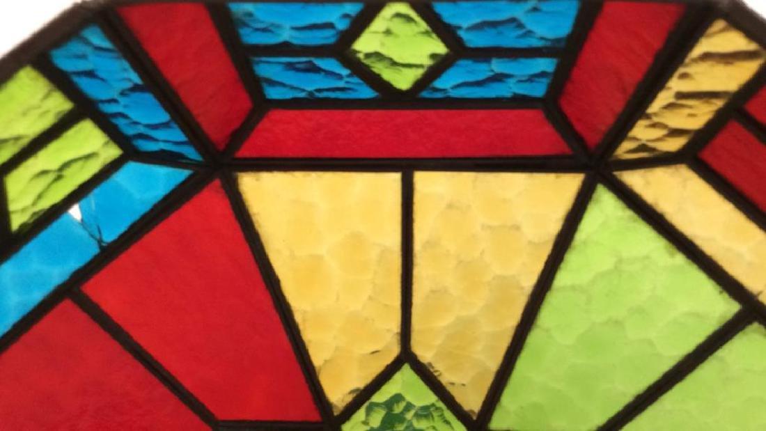 Tiffany Style Glass Mosaic Light Fixture