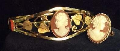 Lot 2 Vintage VAN DELL Gold Filled 12K Jewelry