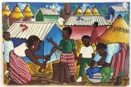 KABRE R Haitian Artwork On Canvas