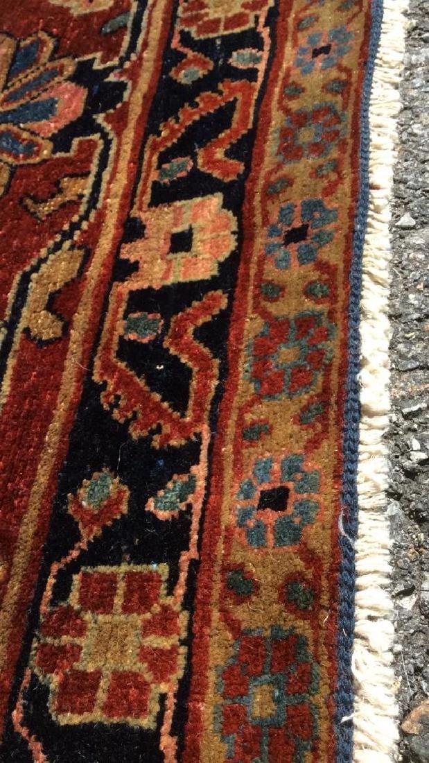 Handmade Intricately Detailed Persian Wool Rug - 10