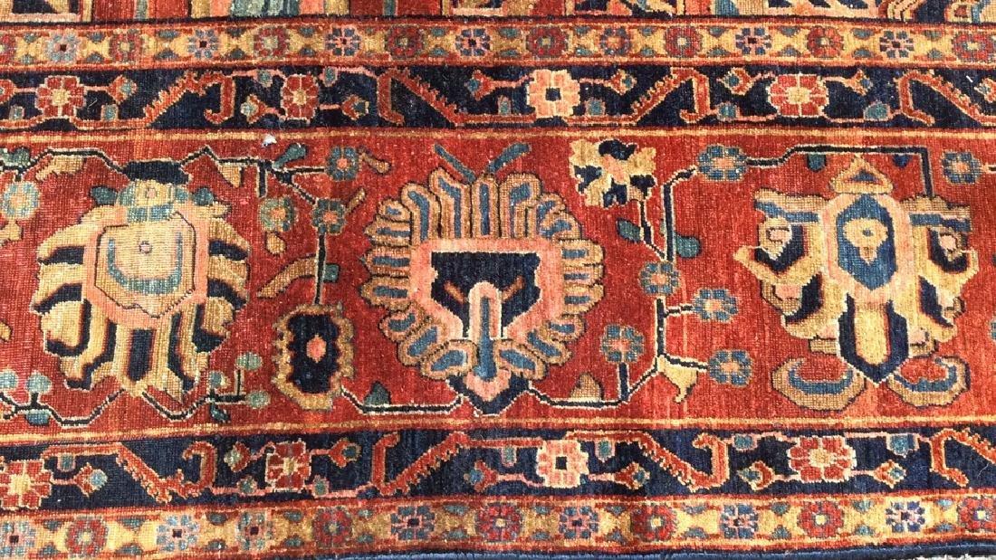 Handmade Intricately Detailed Persian Wool Rug