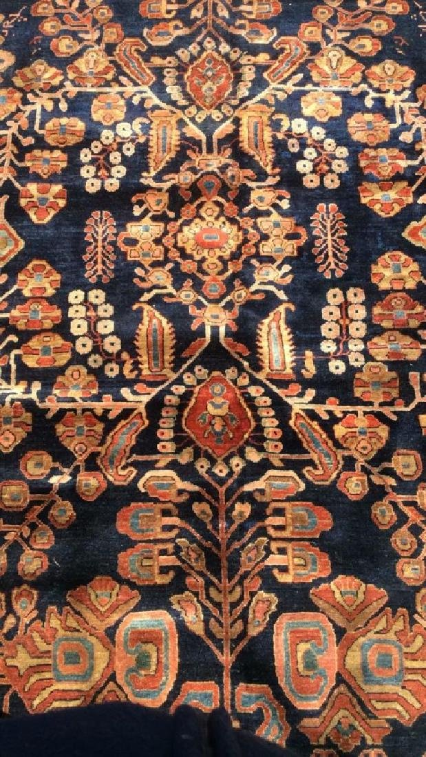 Handmade Intricately Detailed Persian Wool Rug - 2