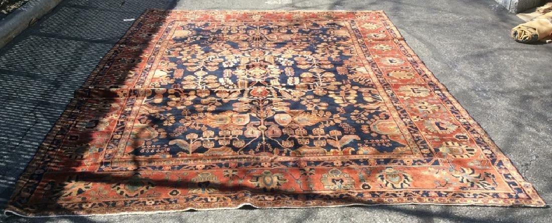 Handmade Intricately Detailed Persian Wool Rug - 3