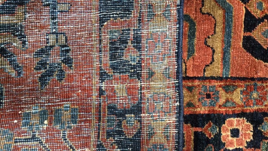 Handmade Intricately Detailed Persian Wool Rug - 4
