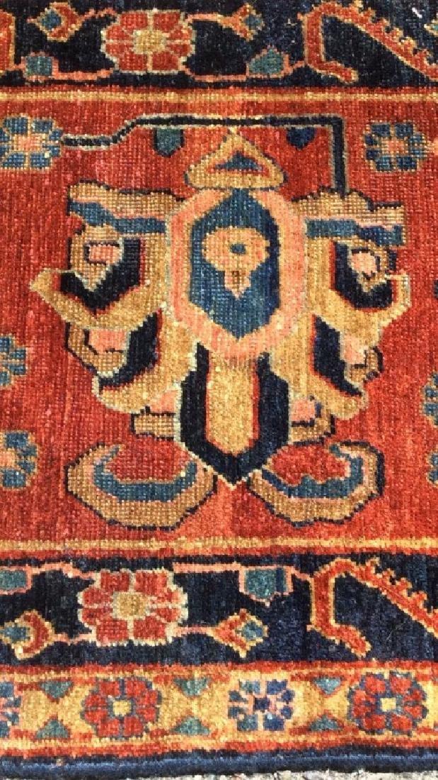 Handmade Intricately Detailed Persian Wool Rug - 7