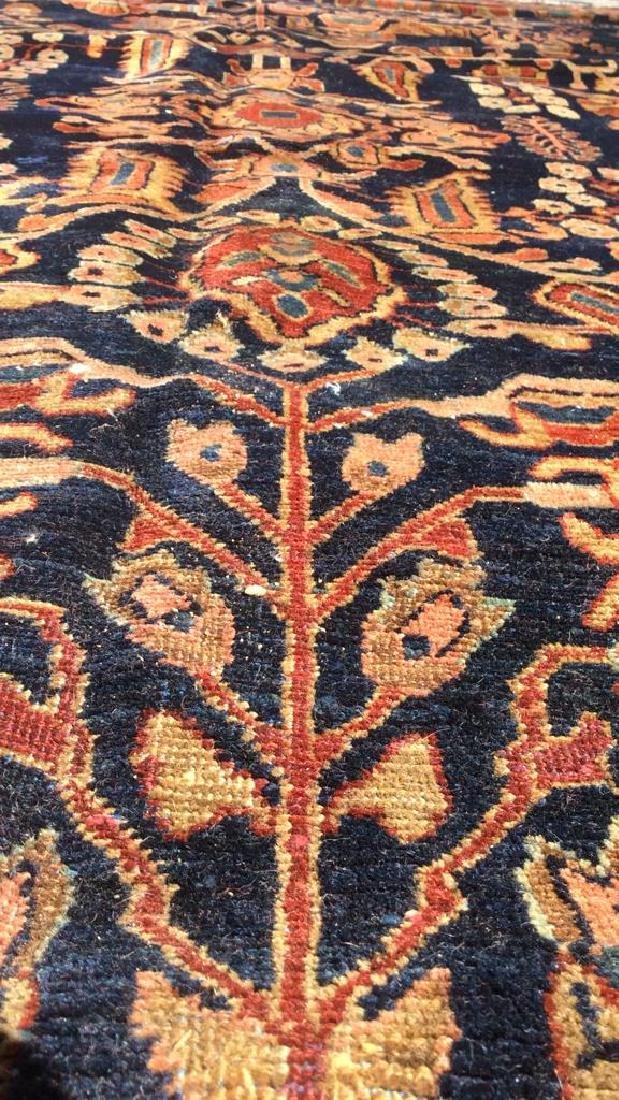 Handmade Intricately Detailed Persian Wool Rug - 8